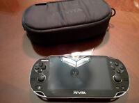 PS Vita with 7 games and 16 GB memory card