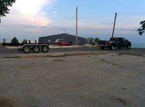 40' Aluminium Boat trailer for sale -- Tri axle boat trailer