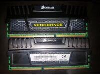 Corsair Vengeance 16GB Desktop RAM DDR3 1600MHz. 2x8GB