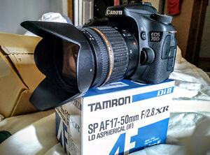 CANON 70D + TAMRON 17-50mm F2.8
