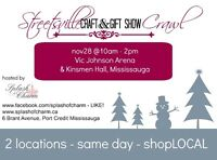 Streetsville Craft and Gift Show CRAWL!