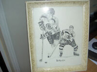 Bobby Orr Picture and frame