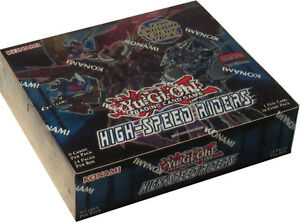 Yu-Gi-Oh: High Speed Riders Booster Boxes & Packs