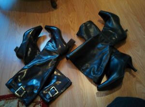 Dress boots and shoes fit size 7