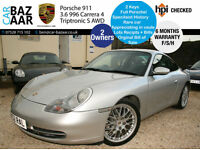 Porsche 911 3.4 auto Carrera 4 Tiptronic S+F/PS/H+ONLY 2 OWNERS+
