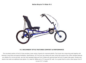 WANTED: Adult recumbent tricycle