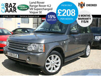Land Rover Range Rover 4.2 V8 auto Supercharged Vogue SE+F/S/H+REAR DVD+