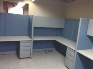 Workstations, Divider Panels; Office Cubicles