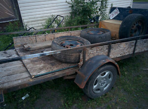 4X10 Utility trailer for sale or trade