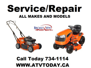 SMALL ENGINE SERVICE & REPAIRS.. ALL MAKES & MODELS..!