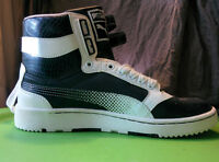 PUMA High-tops. Women's size 7, Leather. BRAND NEW.