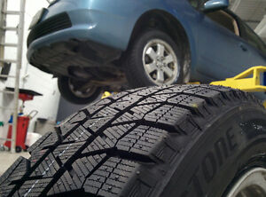 Tire Storage for $30