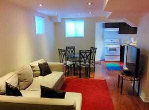 FURNISHED basement for rent Available on Nov