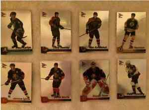 2002-03 McDonald's Pacific Prism Hockey Cards - Over 100