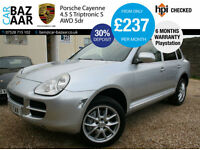 Porsche Cayenne 4.5 S Tiptronic S auto+REAR ENTERTIANMENT+PLAYSTATION+