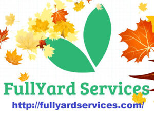 Fall Clean Up --- Removal of All Excess Yard Materials & Leaves.