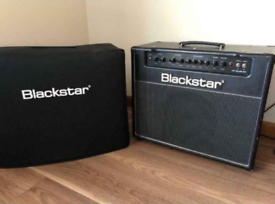 Blackstar HT Club 40 guitar amp with padded cover.