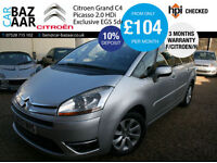 Citroen Grand C4 Picasso 2.0HDi 16v EGS Exclusive+F/CITREON/H+7 SEATS+
