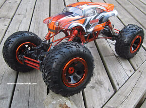 New RC  Rock Crawler Truck  1/8 Scale with 4 Wheel Steering City of Toronto Toronto (GTA) image 1