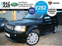 Land Rover Range Rover Sport 3.6 TD V8 HST+F/LR/H+REAR DVD+PLAYSTATION