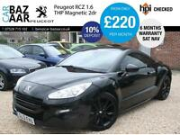Peugeot RCZ 1.6 THP Magnetic+FULLY LOADED+RED LEATHER+1 OWNER+INCREDIBLE CAR