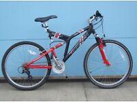 Saracen bike . Mens bike . Boys bike . 26 inch bike . Mountain bike . Bike