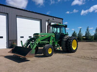 JD 4840 Tractor with 168 Loader