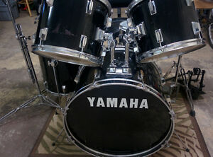 Drum Kit with Sabian Cymbals and double bass pedal