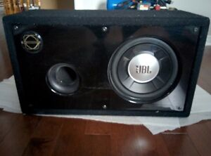 JBL Subwoofer and Box