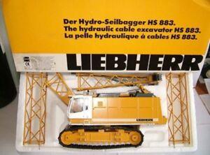 Liebherr HS 883 Crawler Crane Diecast Toy For Sale