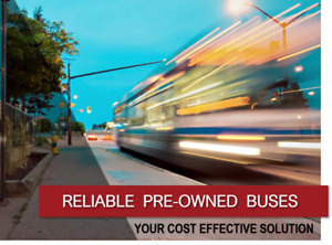 Pre-Owned Buses - Excellent Condition