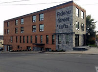 Rideau Street Lofts - Available January 1, 2016