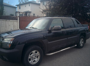2003 Chevrolet Avalanche Pickup Truck SOLD AS IS