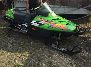 Arctic cat 580zr looking to trade