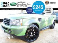 Land Rover Range Rover Sport 2.7TD V6 auto HSE+ONE OFF CAMO WRAP+NEW CAMBELT+