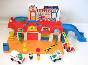 Little people vintage - Fisher price maison et village