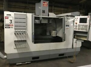 2005 Haas VF-3 4-Axis VMC with Rotary Table