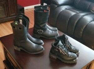 Mens and Ladies Harley Boots