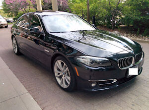 2015 BMW 5-Series 535d xDrive Sedan for lease take-over