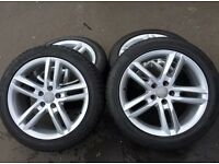 "18"" alloys, Audi, VW BMW 5 x112 PCD"