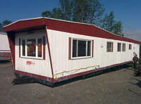 Mobile home/office