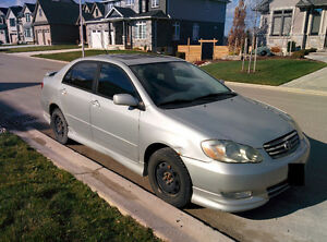 2003 Toyota Corolla Sport Sedan $1500 obo as is. Runs Great!