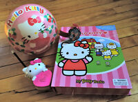 Hello Kitty Collectable Lot - Book/Game, Watch, Ball, & More