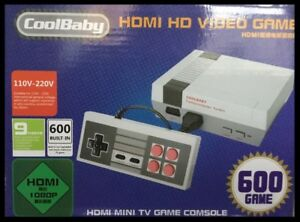 Retro Game Console Built-in 600 games HDMI cable *****  ONLY $45
