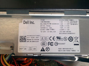 Power Supply for DELL OPTIPLEX 3010 , 7010 ,9010 390 790 990 SFF