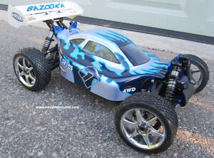 New RC Buggy/Car Brushless Electric BT9 Pro Version 1/8 Scale