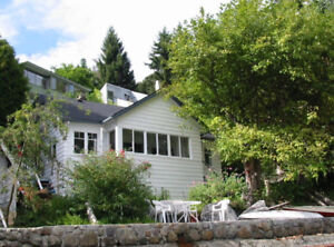 Waterfront cottage, West Vancouver