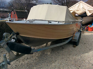 Cope, Welded Aluminum, Runabout Boat