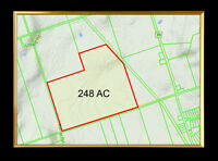 Beautiful 248 acre parcel of vacant lands in Bethany!