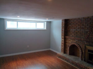 Beautiful and Bright 2-bedroom Basement Apartment- West Mountain